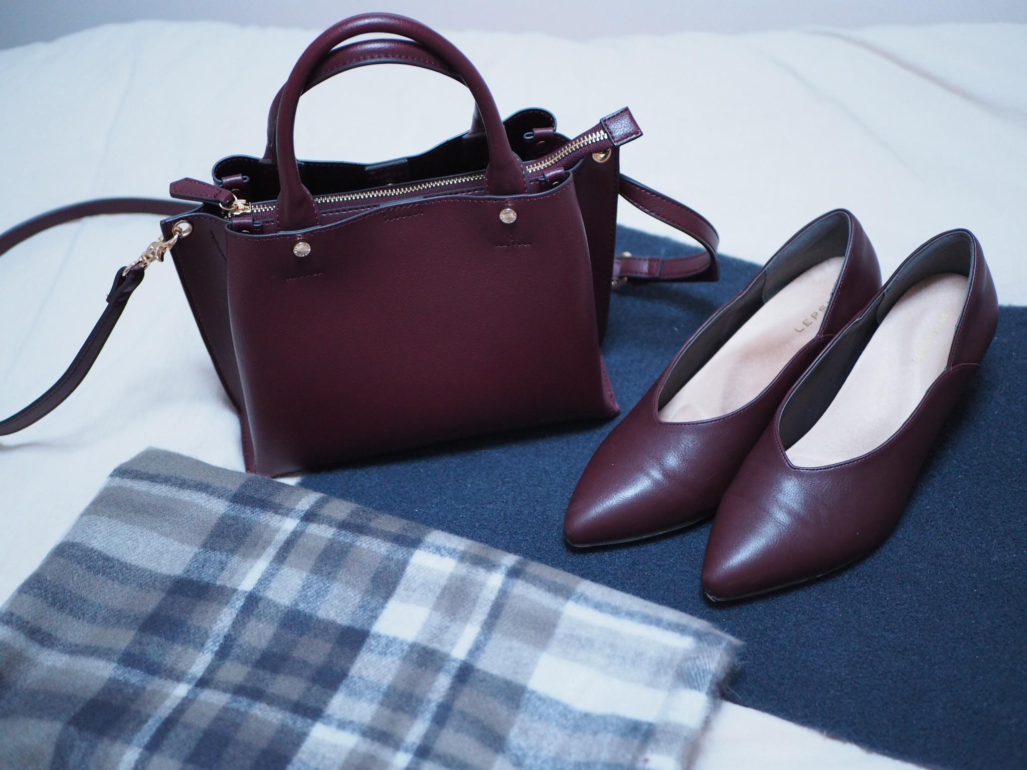 【#LEPSIM】冬のさし色はプチプラで投入!DARK RED item♡_1