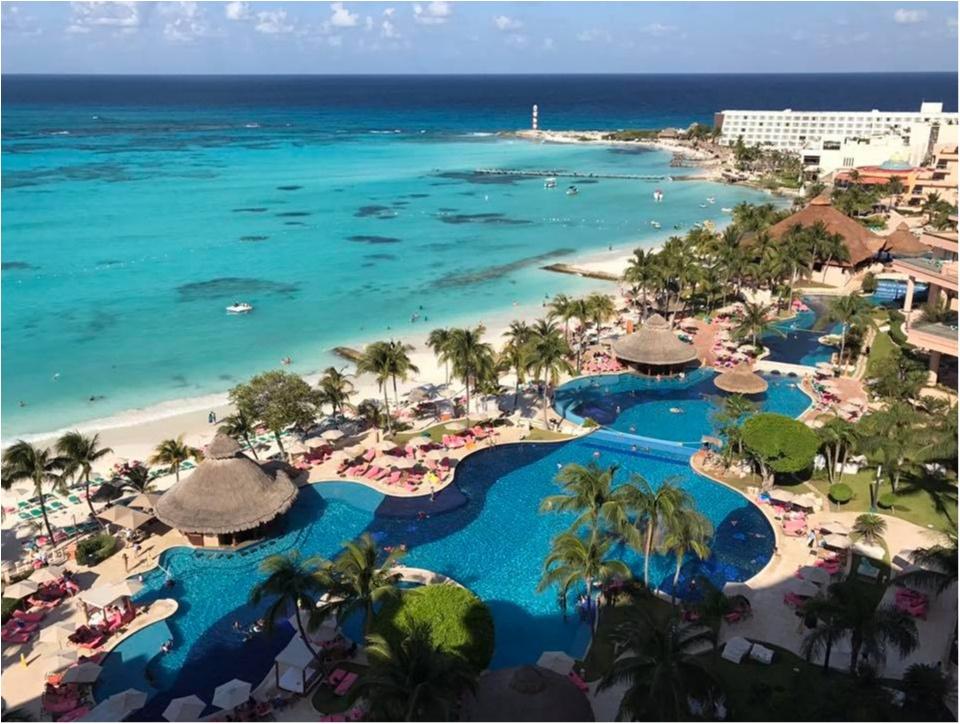 【新婚旅行】憧れのリゾート地カンクンへ!〜グランドフィエスタアメリカーナグランドコーラルビーチカンクン_3