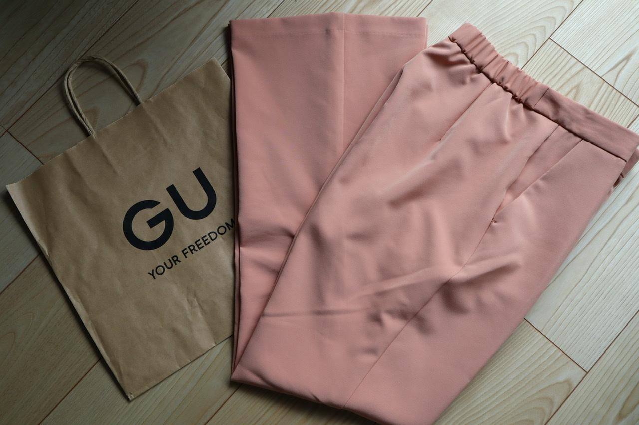 《衝撃価格!¥590へ値下げ❤️》MORE5月号にも掲載【GU】のカラーパンツ‼︎☻_2