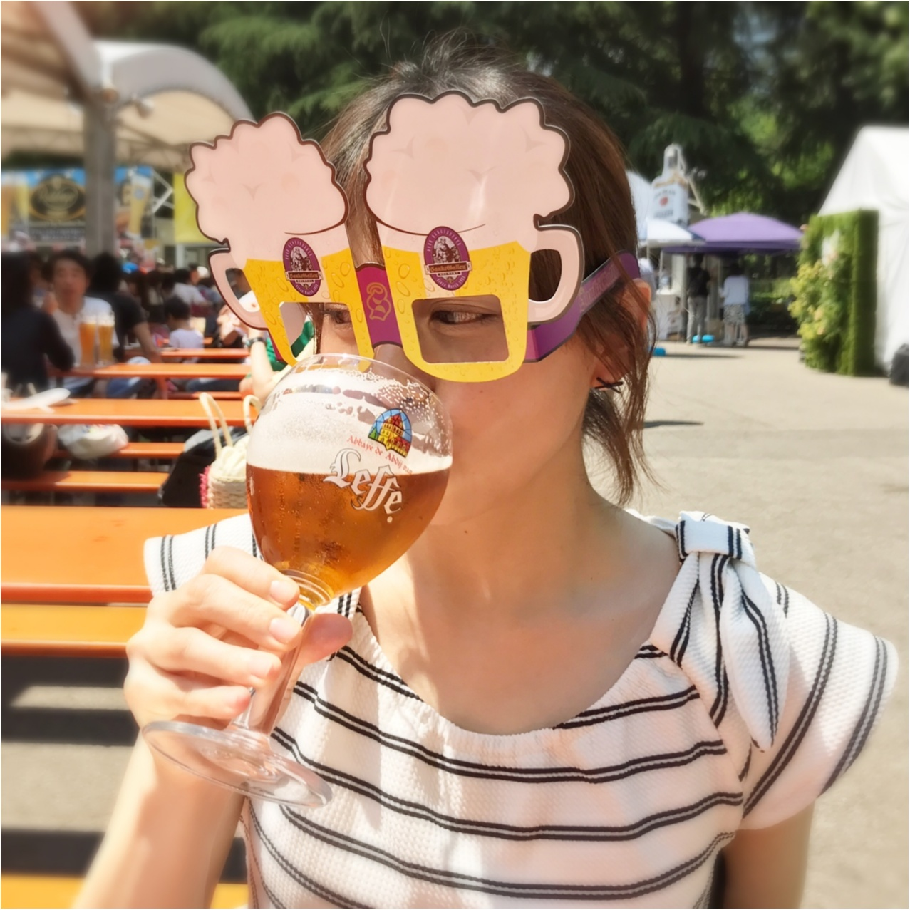 《外ビールがおいしい季節♡》日本最大級!世界中のビールが飲める【ヒビヤガーデン】_7