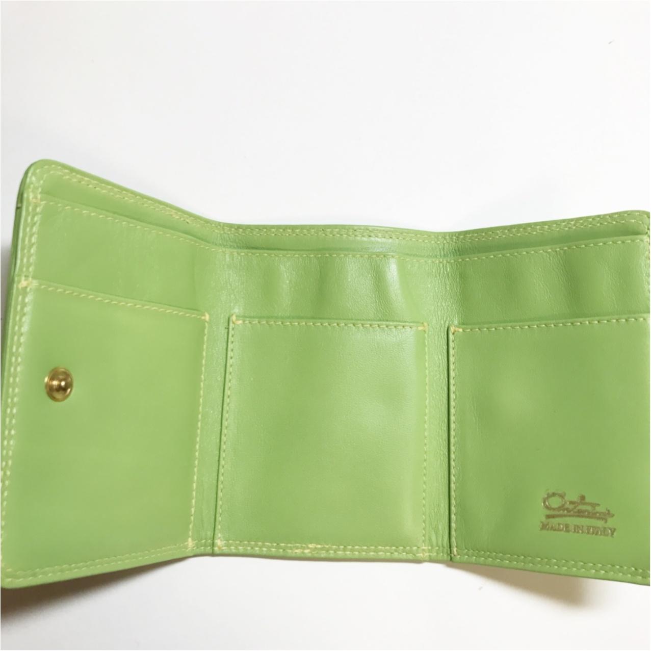 《ミニバッグの日のお供はコレ♡》和光の三つ折り財布がいちばん使いやすいっ!_3