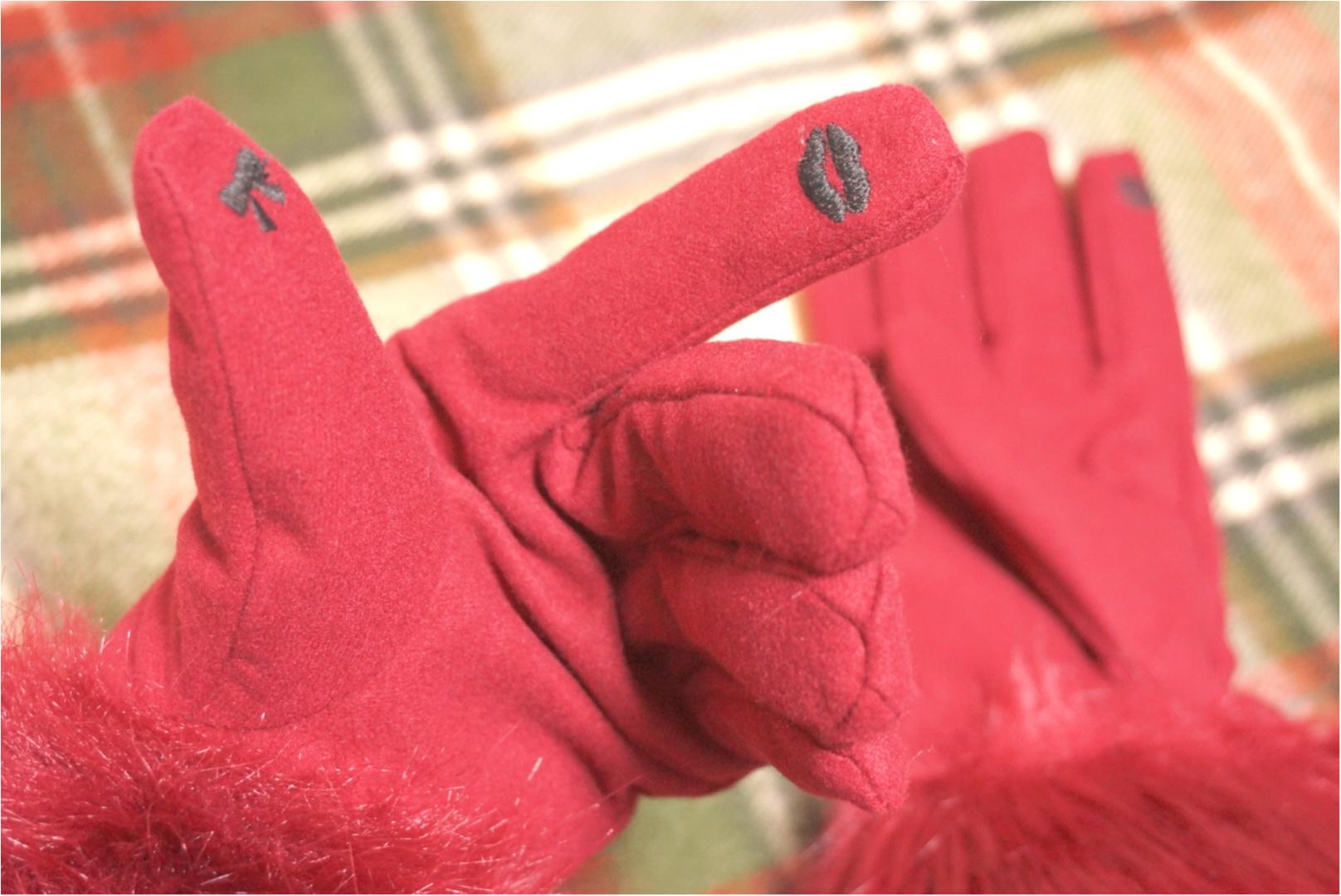 《今日からルミネ10%OFF✨》冬の買い足しアイテムは【Maison de FLEUR】のファーリボングローブ♪ 可愛い!あったかい!だけじゃない( ´艸`)〇〇〇もできちゃう優秀なグローブは大人気‼︎_4