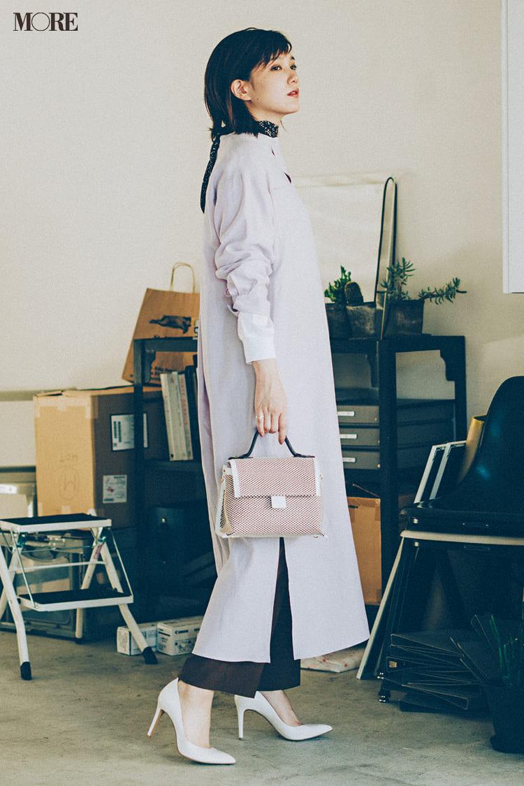 シャツワンピースの着こなし術【2020春】- 今年イチオシの色・形は? とびきり今っぽくておしゃれな最新ファッションまとめ_22