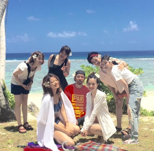 【オフショット】りな&恭子の水着撮影inGuam!2_2