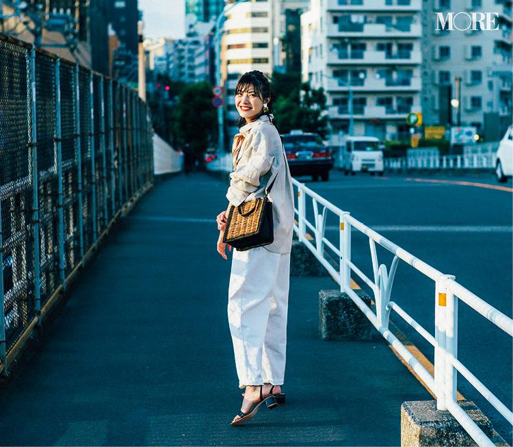 佐藤ありさがお手本! 夏のシャツコーデ Photo Gallery_1_1