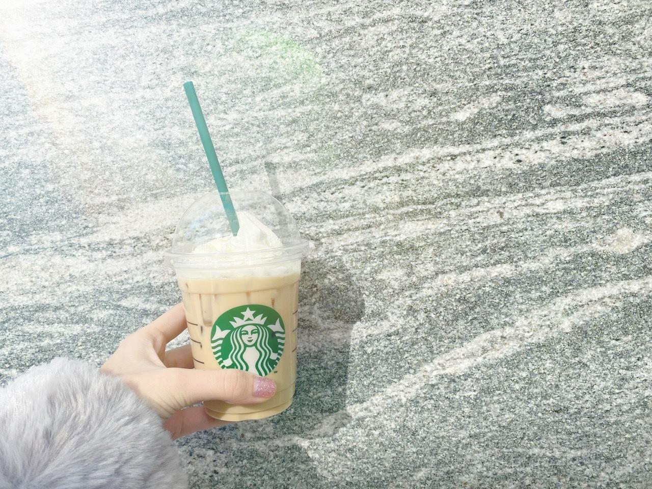 【スタバ新作】ほうじ茶 クリーム ラテ ♡ フラペチーノならわらびもちカスタマイズも!?_1