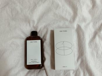 【韓国スキンケア】ONE THINGの化粧水がめっちゃ使える!