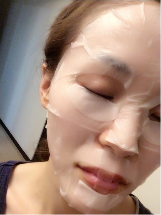たっぷり美容液でお肌がプルプルに‼︎話題のパックを試してみました(*´ω`*)_2