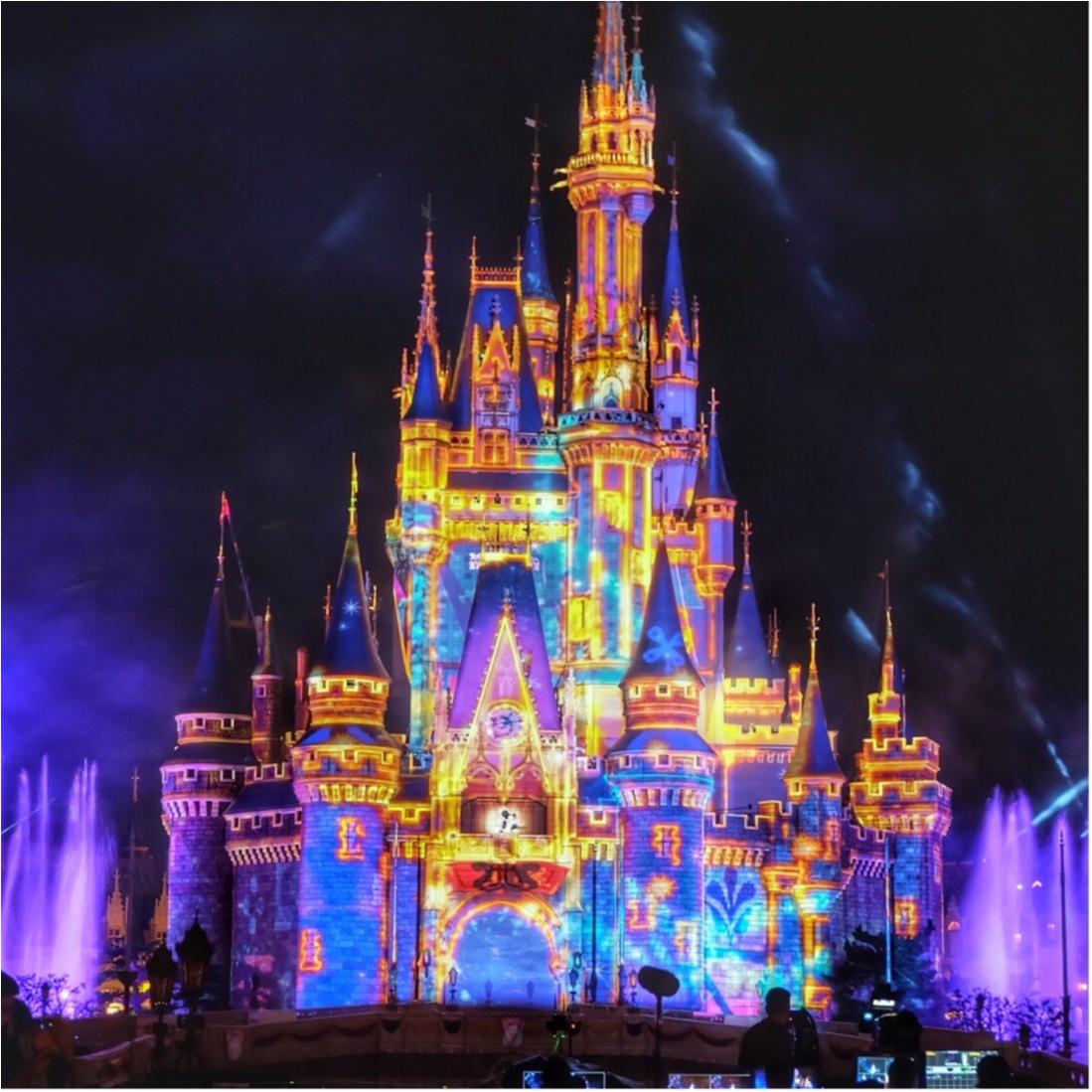 ディズニー,ディズニーランド,プロジェクションマッピング,ミッキー,Happiest Celebration,35周年