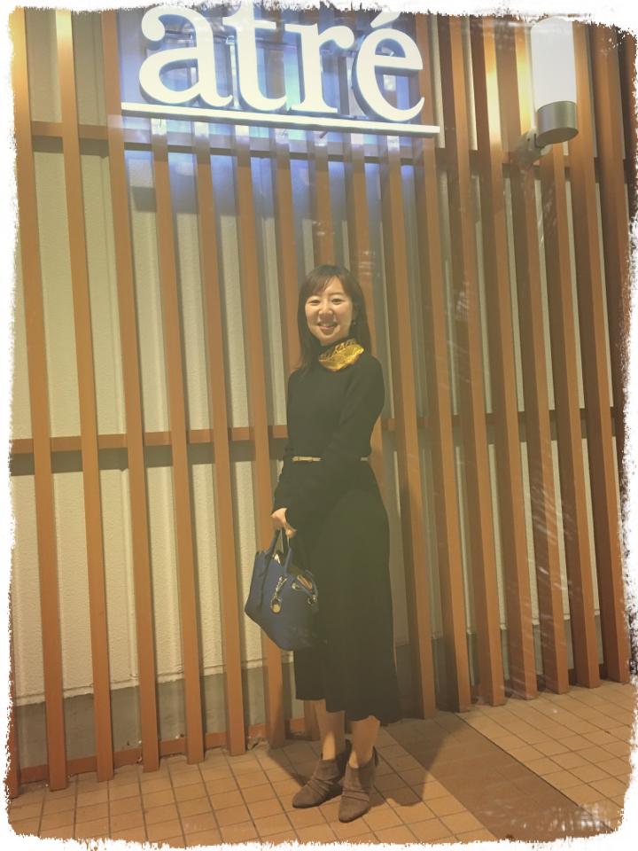ユニクロワンピで校閲ガール♡河野悦子、石原さとみちゃん風コーデにトライ♡_6