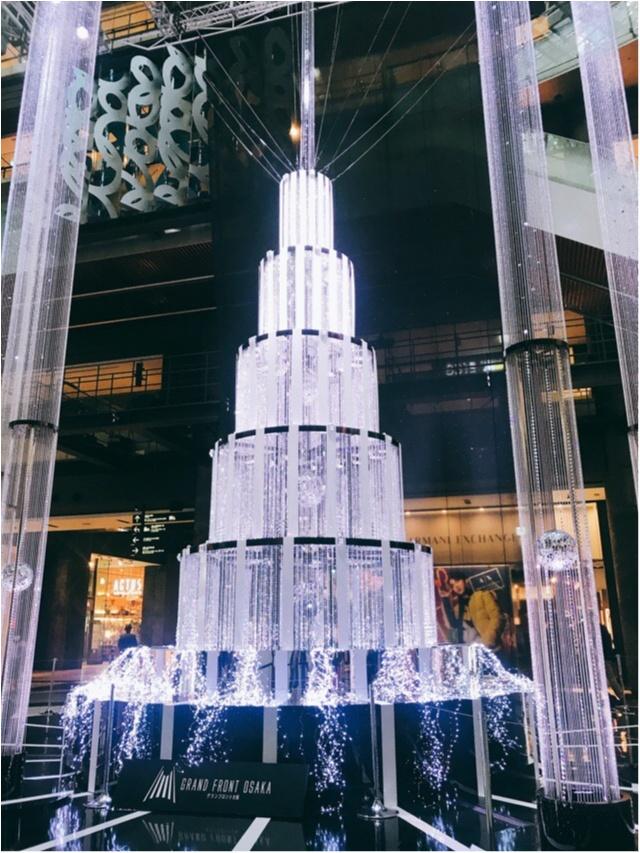 光のアート☆スワロフスキークリスタルのツリーで特別なクリスマスに♡_1