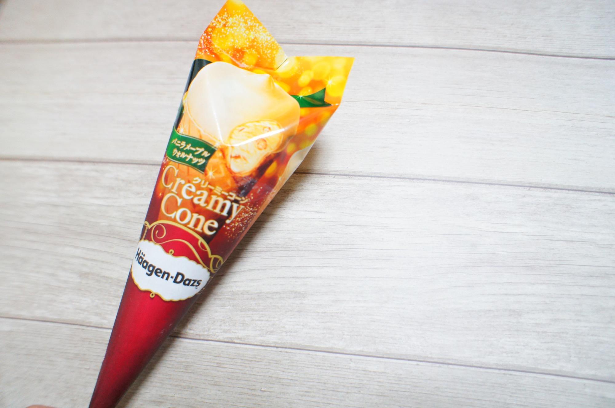 《セブン-イレブン限定❤️》12/3発売!【ハーゲンダッツ】kクリーミーコーンが美味しすぎる☻_1