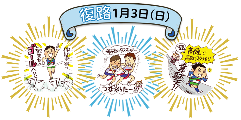 すべてがドラマだ!「箱根駅伝」全10区の見どころ【復路編】_1