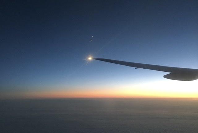 飛行機撮影した絶景の写真