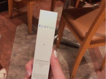 韓国で、KLAVUU(クラビュー)の《女優クリーム》を購入しました!