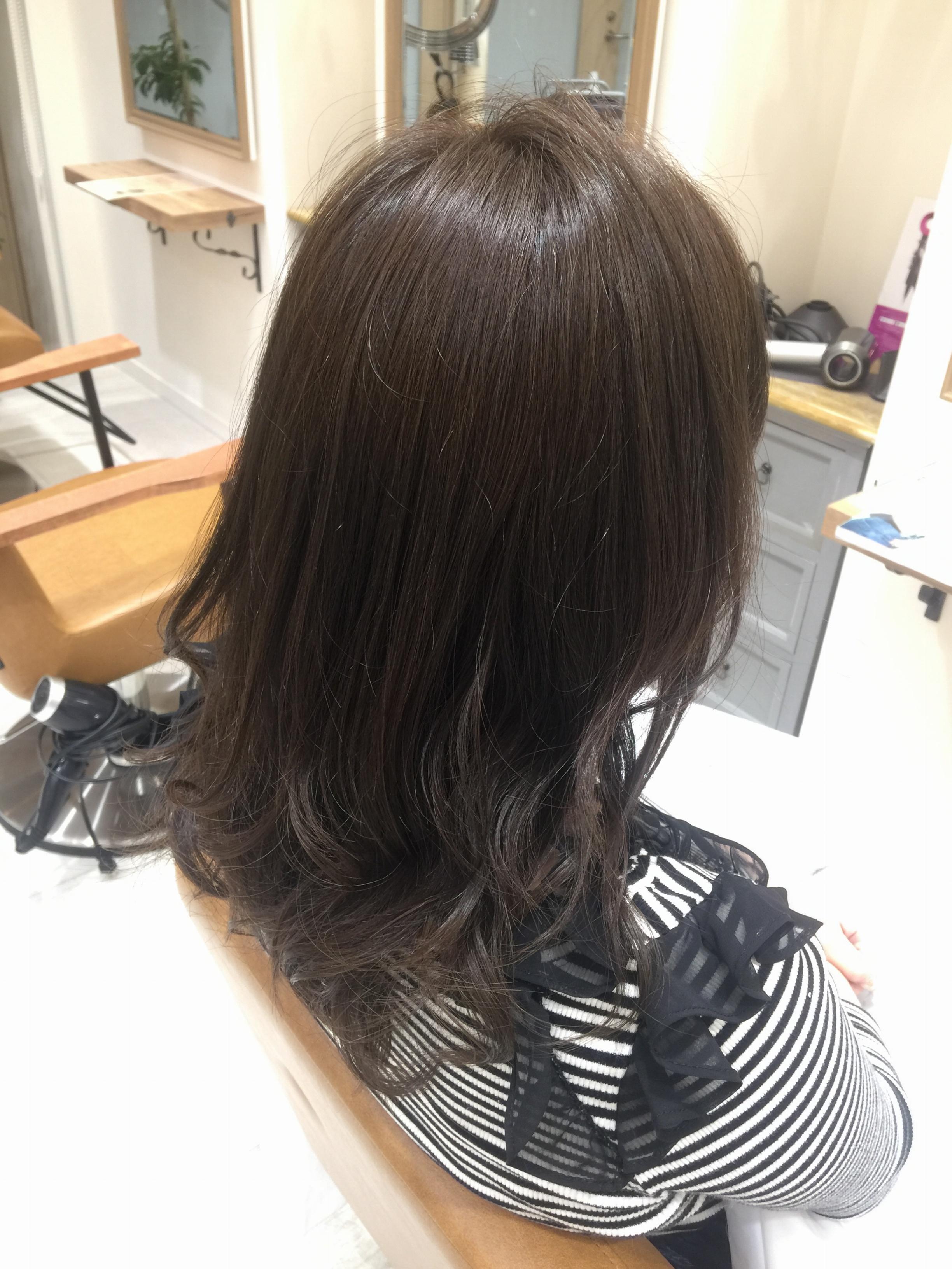 今期トレンドカラー♡ブルージュに挑戦!!ヘアメンテ✂︎_1