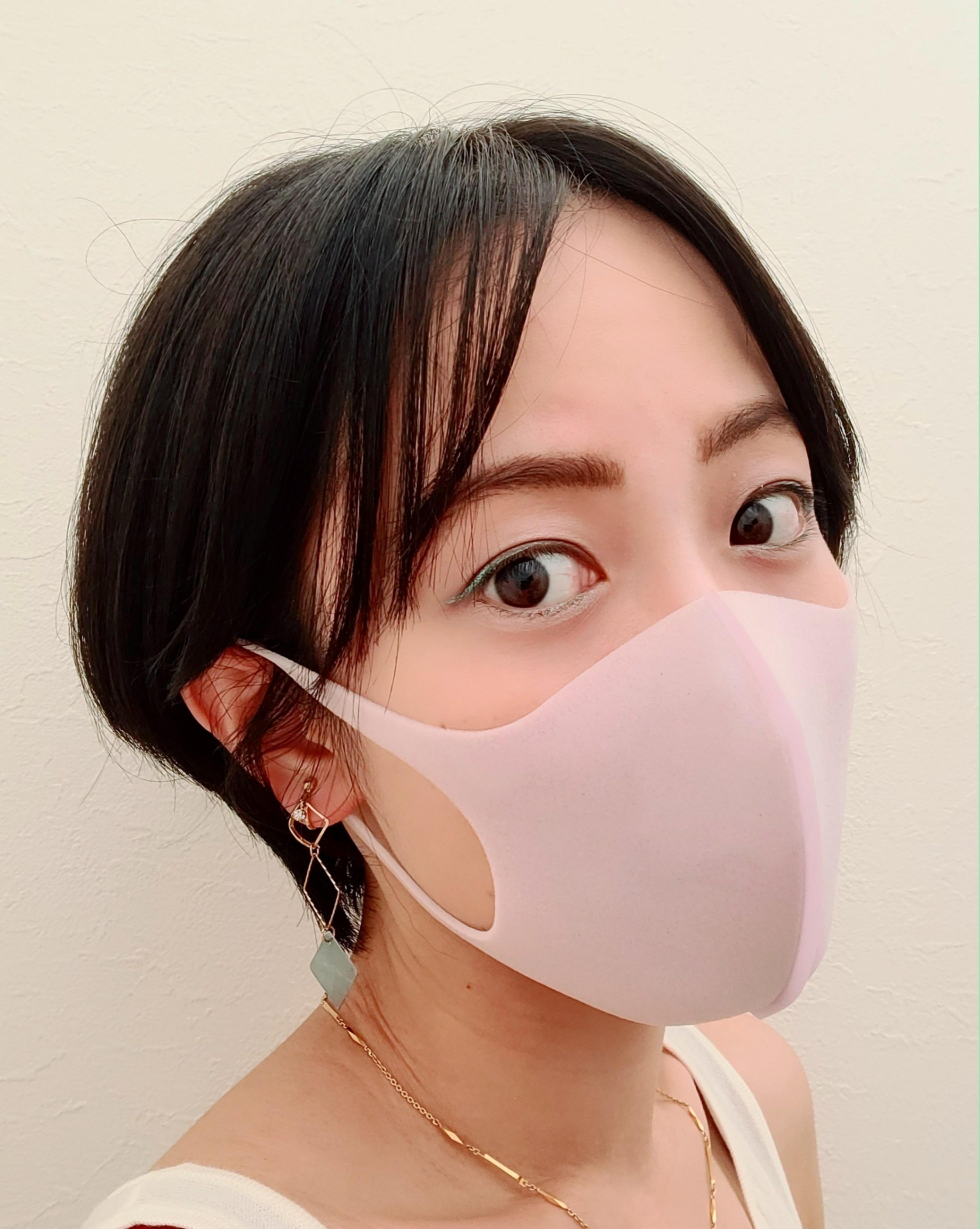 【マスクメイク】目指せ!マスク美人❤️休みの日とお仕事の日の2Days_2