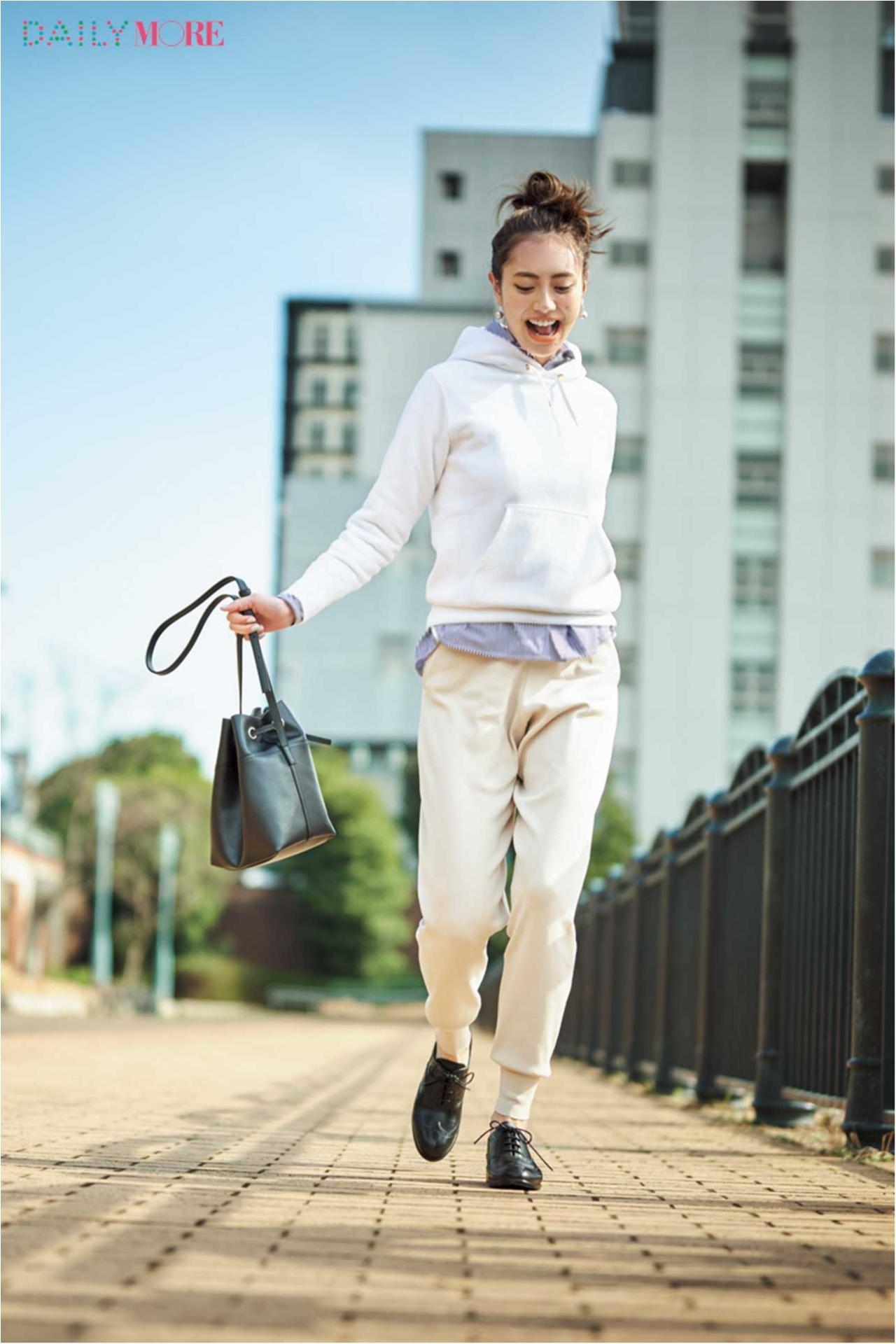 【今日のコーデ/土屋巴瑞季】きりりと男前なオックスフォード靴は雨でも晴れでも頼れるのがうれしい♡_1