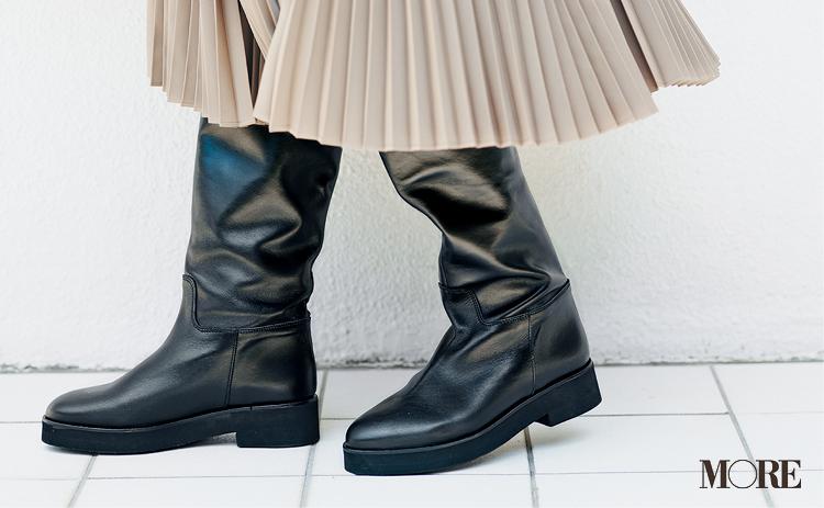 """新しく買わなくってもいいじゃん♡ ベージュのプリーツスカートは""""3足の靴""""で新鮮さがよみがえる!_2"""