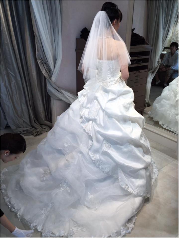 人生初のウエディングドレス/人生初の俺のフレンチ table taku_2