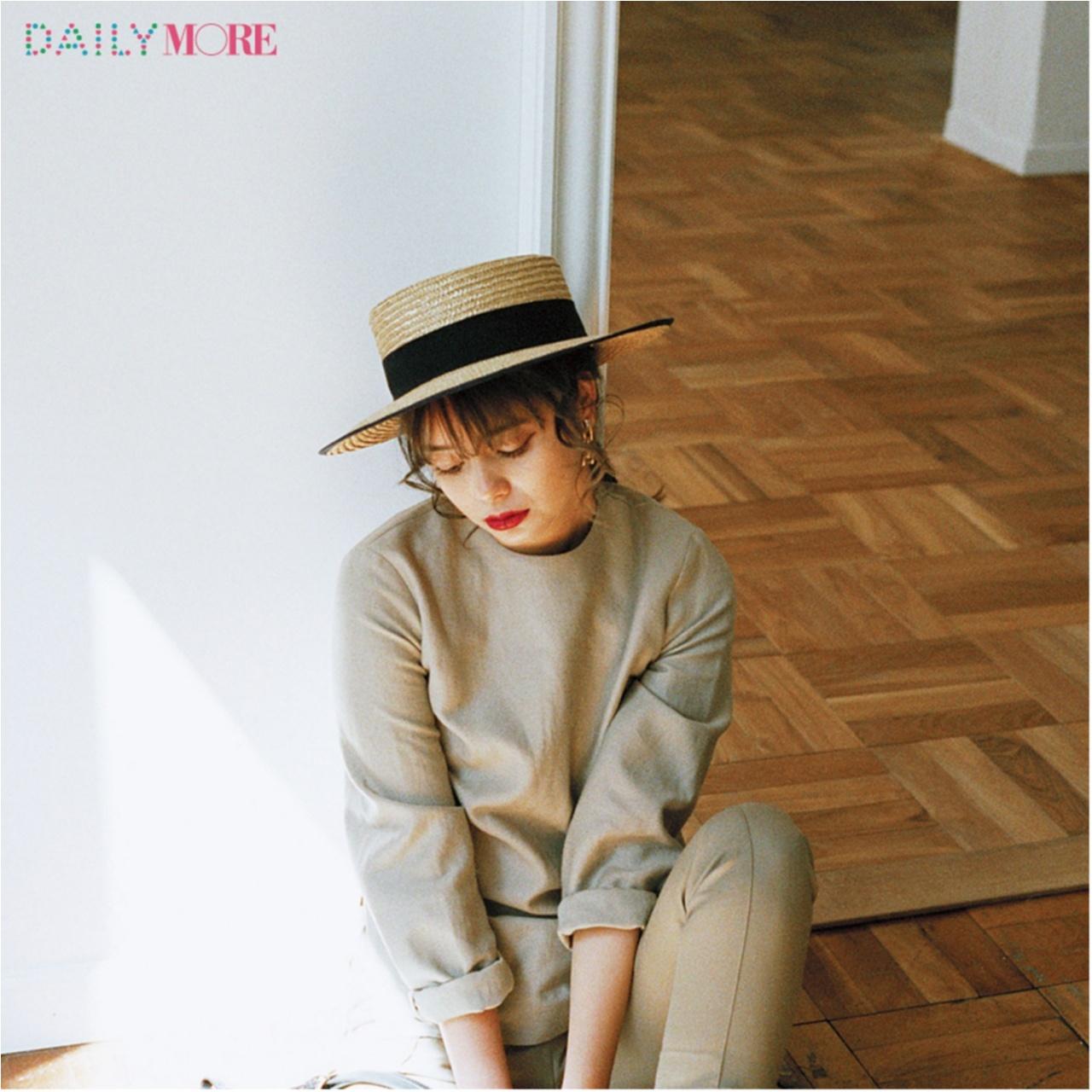 いつもの服が一気にフレンチムードに♪ お茶目な「カンカン帽」コーデまとめ♡_1_13