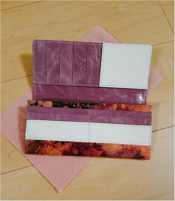 運命のお財布に出逢いました!美しすぎる・・・【ALBA】のウォレット(443 まゆ_4