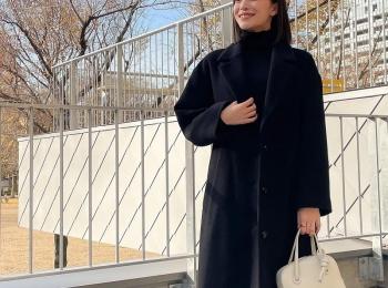 黒のロングコートを『ジャーナル スタンダード』でお買い上げ!