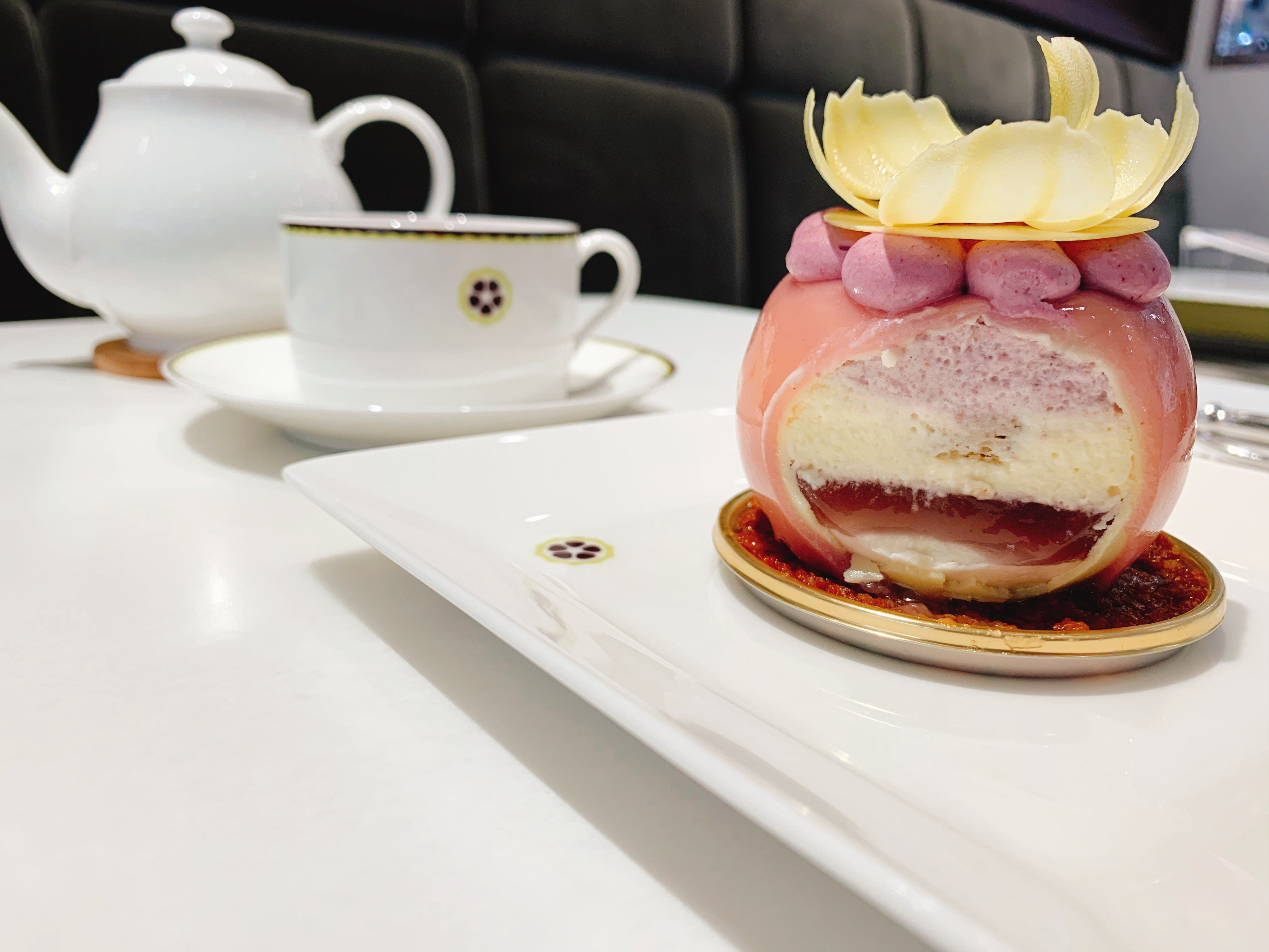 【おすすめカフェ】有名ショコラティエの《花ひらくケーキ》が美しく美味しすぎる♡_6