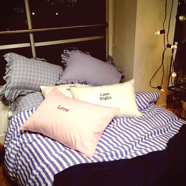 【展示会レポ】まるで映画に出てくるベッドルーム!おしゃれなリネンに包まれて眠りたい♡_2