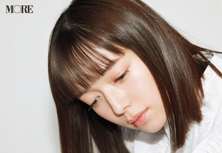 佐藤栞里のヘアスタイル<サイド>