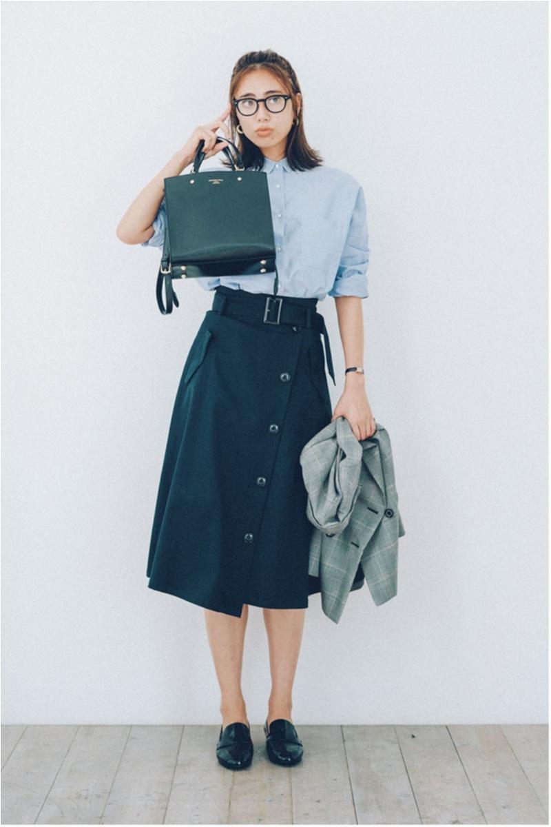 ちょっと上のおしゃれも目指せる! 旬の【トレンチスカート】コーデ15選 | ファッション(2018年秋)7