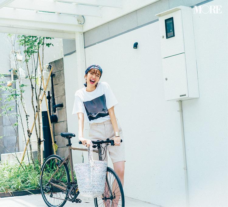 Tシャツコーデは佐藤栞里がお手本♡ カジュアルだけど大人っぽい4枚があればOK!_3