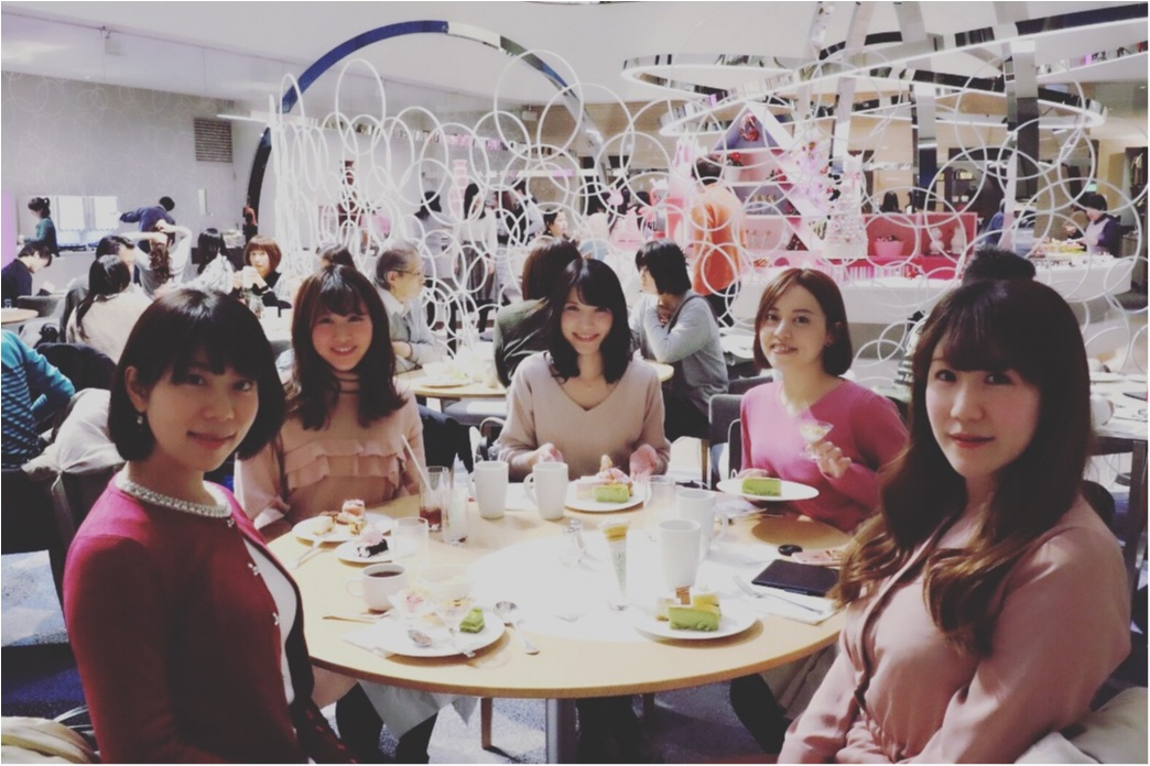 ♡モアハピ女子会!ヒルトン東京ベイのピンクだらけの可愛すぎるブッフェがお得すぎる♡_6