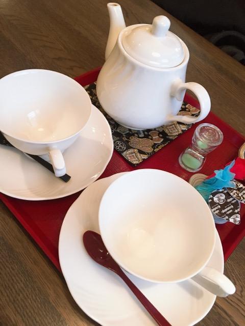 雪も溶けてきたので、少し外をおさんぽ!前から気になっていた茶屋に行ってきました♡_3