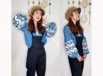 【オンナノコの休日ファッション】2020.11.21【うたうゆきこ】