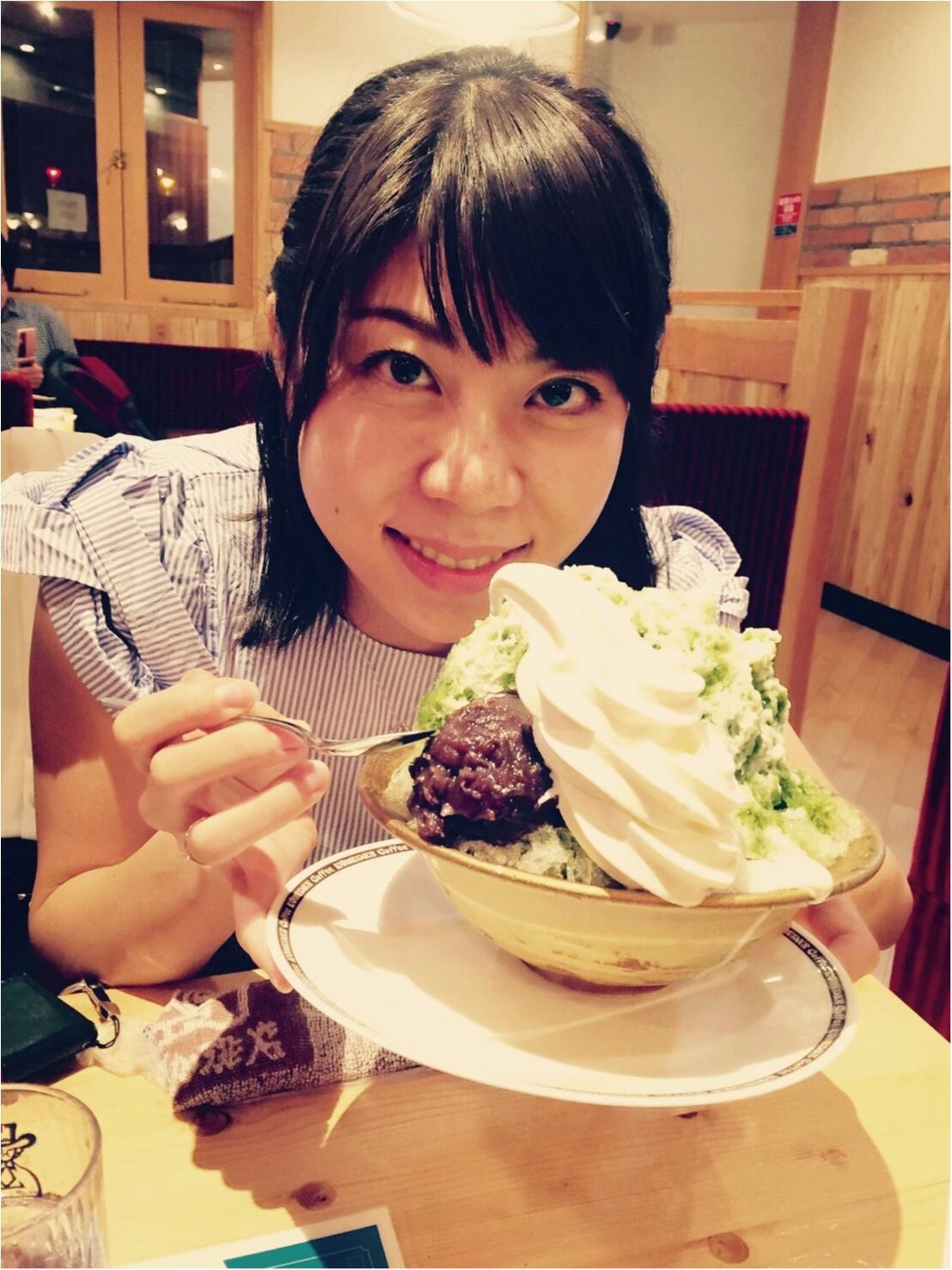 コメダ珈琲のかき氷♡_1