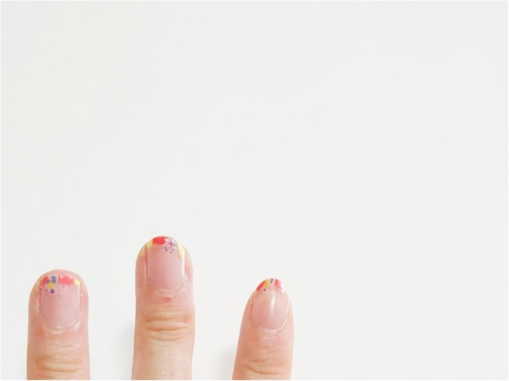 【ビューティ】合言葉は『ちょこっとのせ』簡単!クリアネイルで指先をお洒落に、夏らしく♪_3