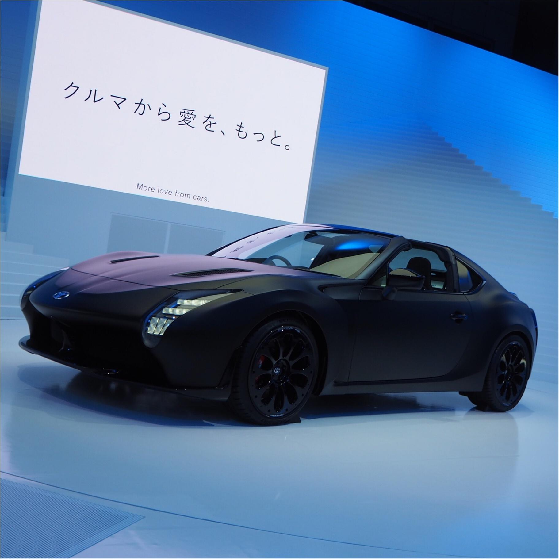 【乗り物好きにはたまらない♡】東京モーターショー2017へ行ってきました_9