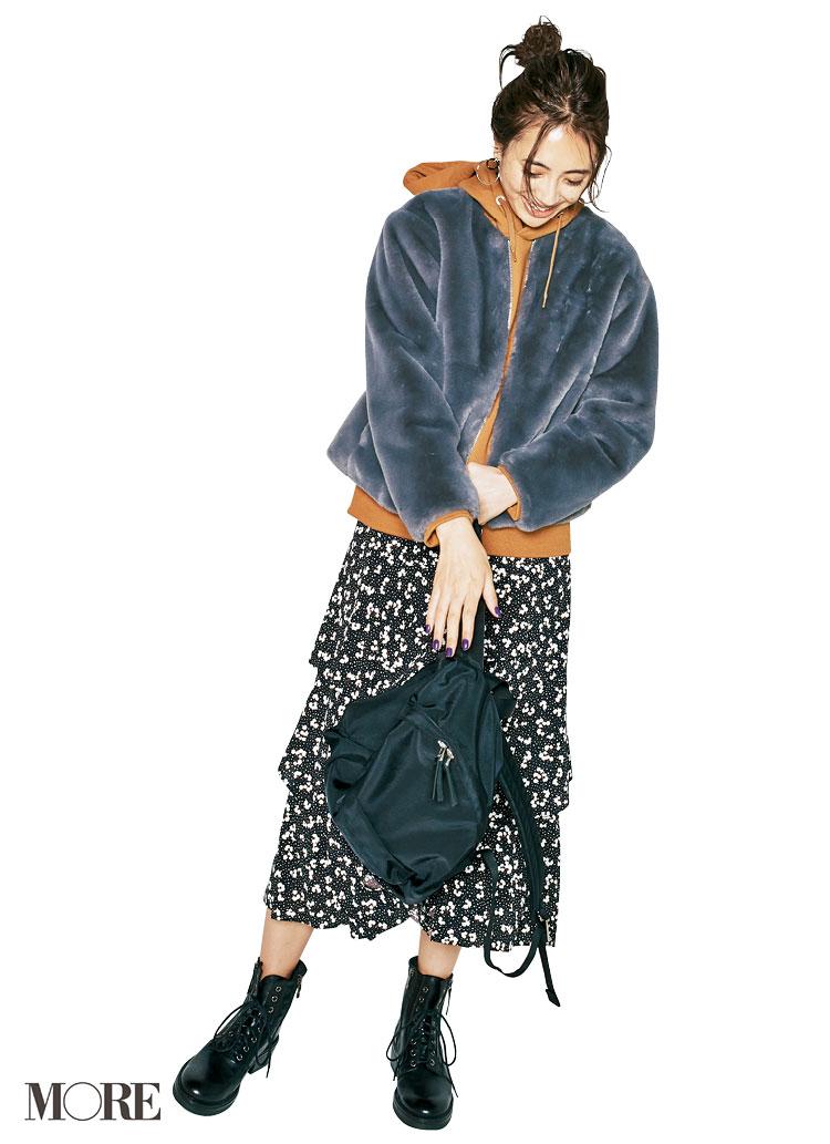 スカート、ニットにコートも! 冬のきれいめ【GUコーデ】まとめ | ファッション_1_8