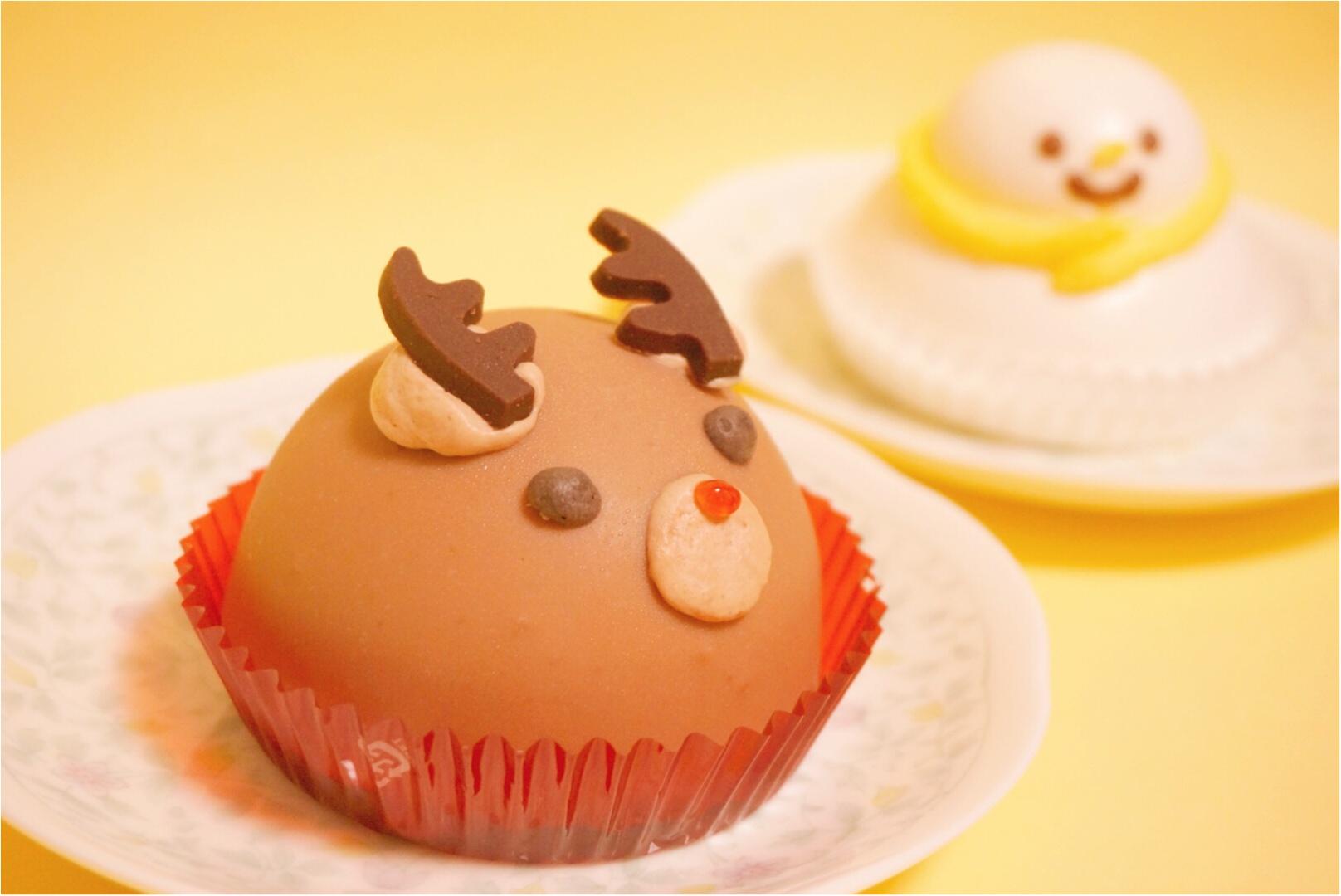 《カメラ必須‼︎》食べるのがもったいない‼︎セブンイレブンのトナカイ&雪の子ケーキが可愛すぎるっ♡_1