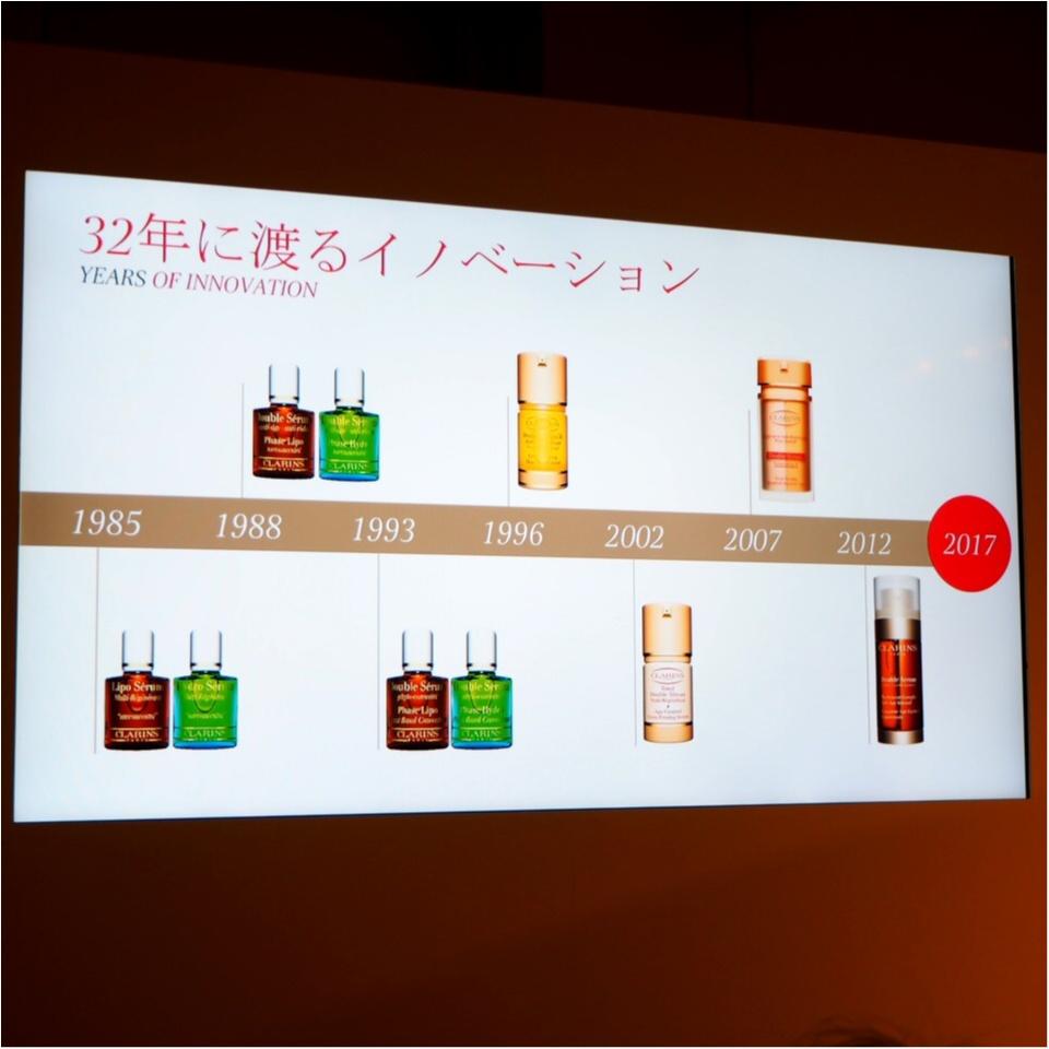 30年以上愛され続けてきた美容液【クラランス】新製品発表会_3
