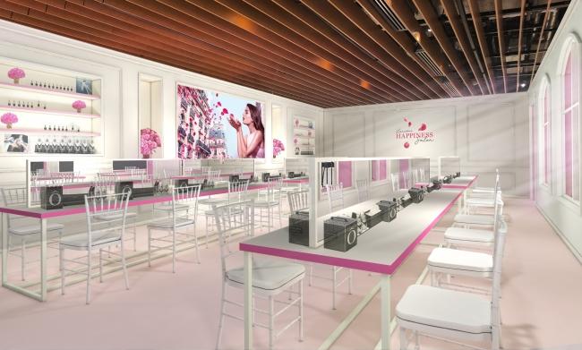 限定イベント「ランコム ハピネス サロン」は、ローズが舞う華やかな空間♡ 人気美容液  「ジェニフィック アドバンスト」が1年分当たるチャンスも!_2
