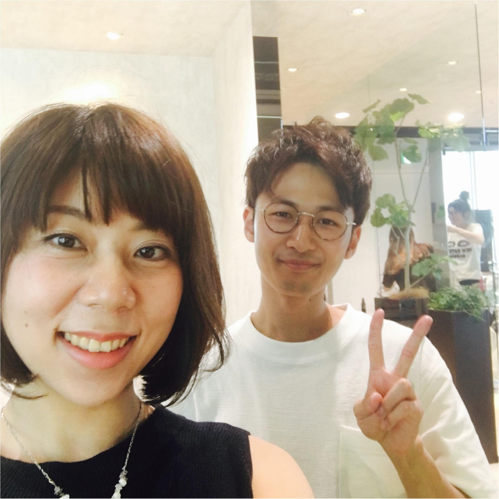 青山K TWOにてNew hair ボブ♪_1