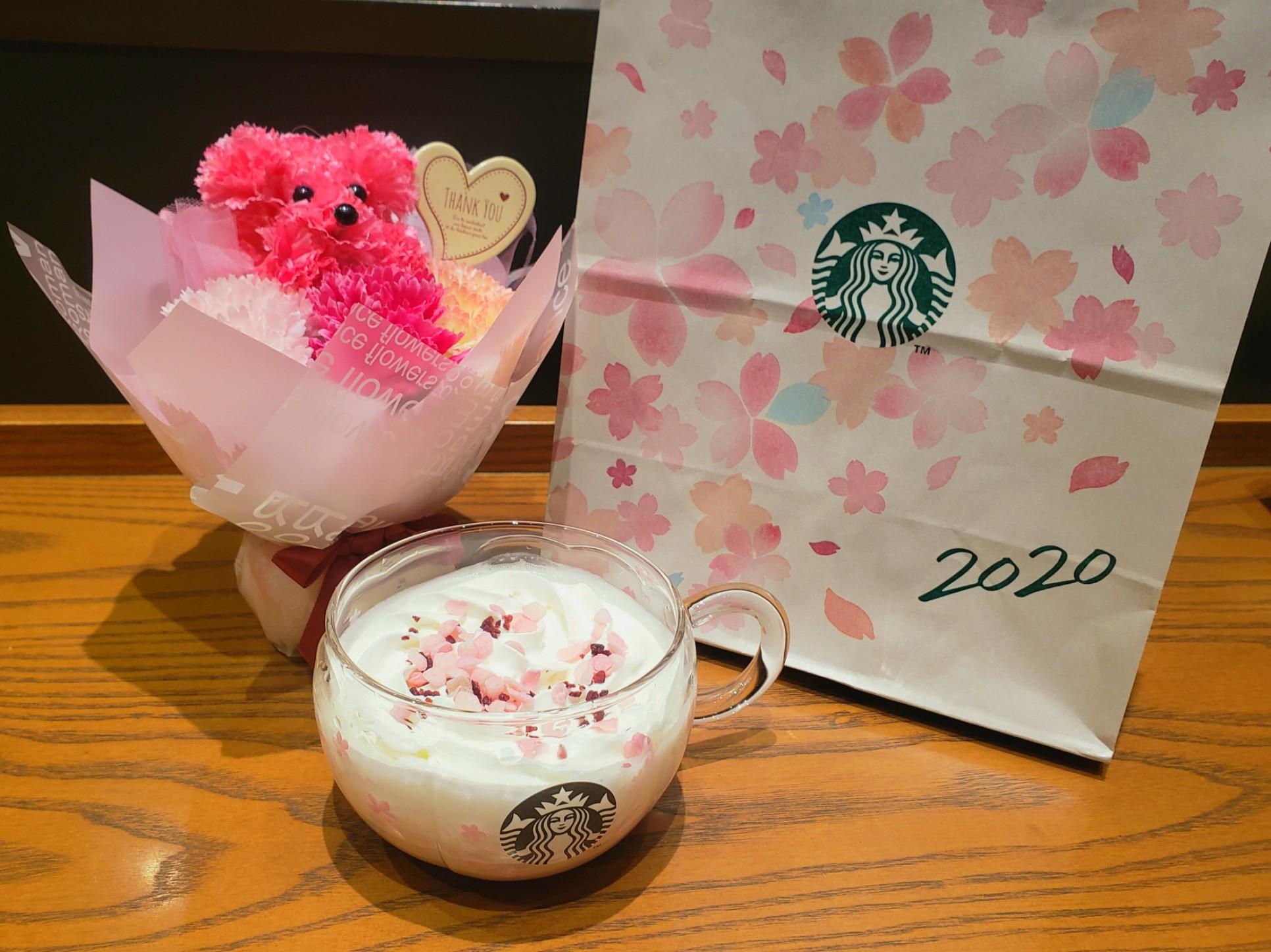 【スタバ《さくら》】ドリンクもマグカップもコーヒーもピンクでかわいいを紹介♡_1