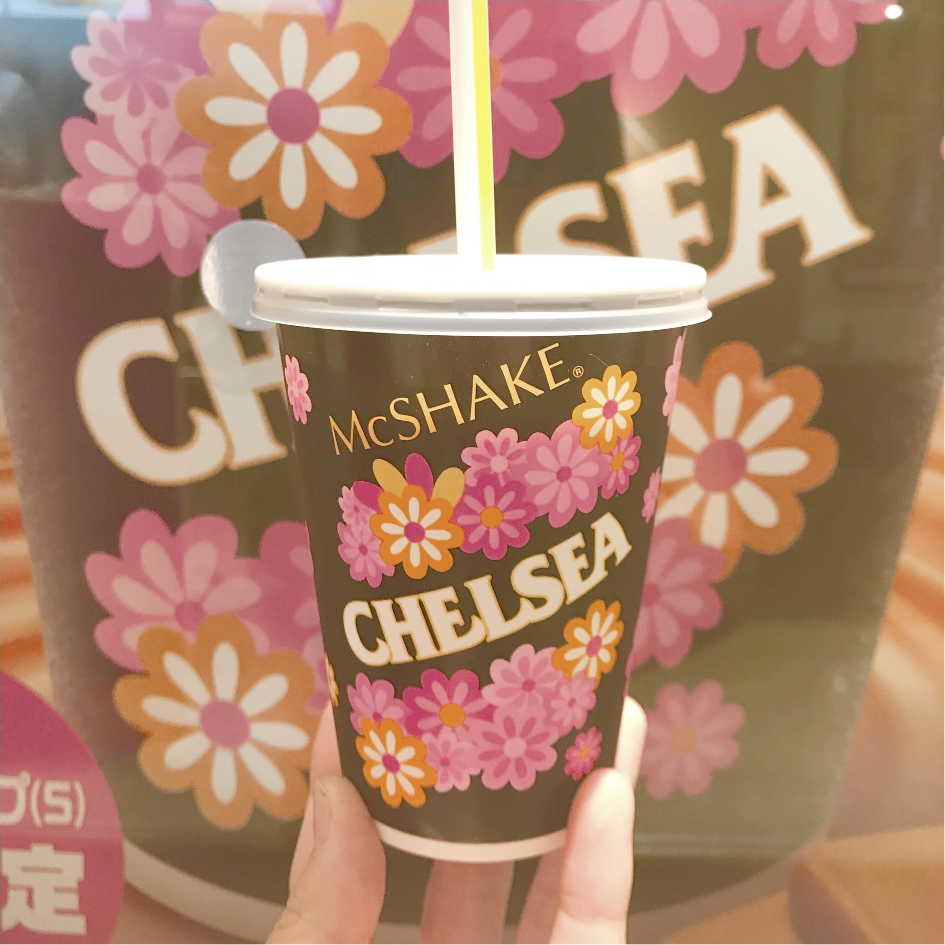 【FOOD】マクドナルドからチェルシーバタースカッチシェイクが期間限定登場中❤︎!_1