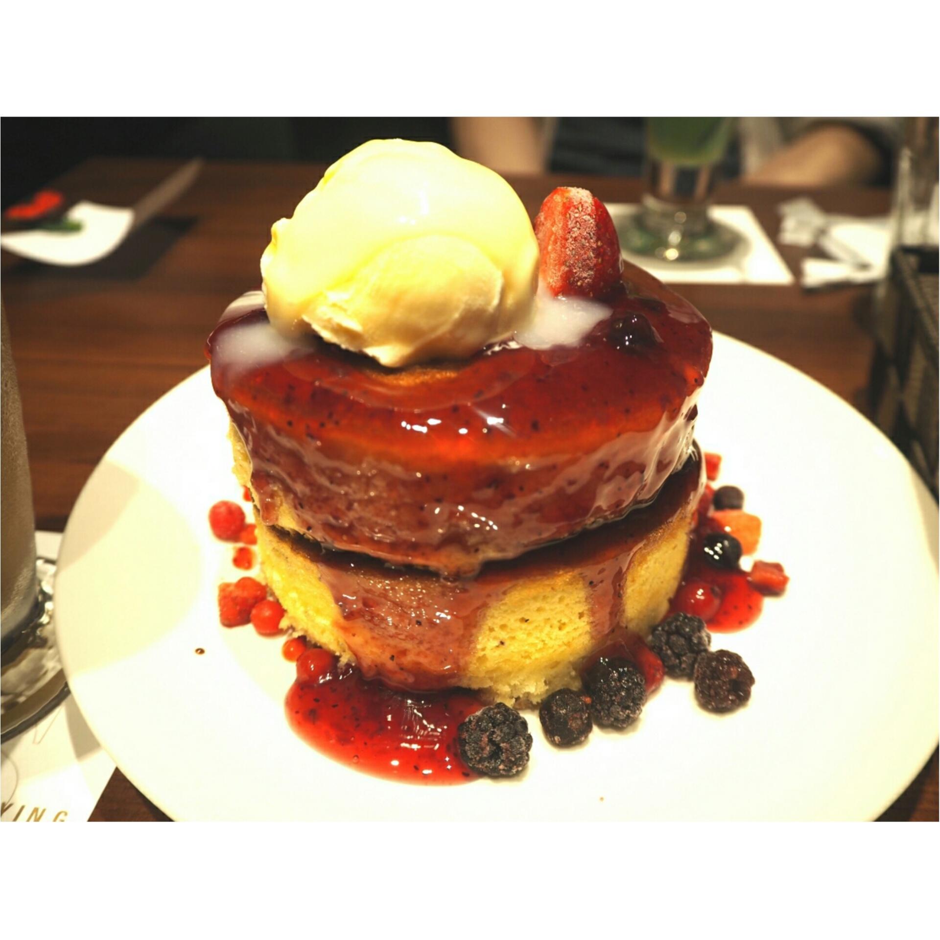 ◆愛媛発の大人気おしゃれカフェ◆ボリューミーでふわふわのホットケーキならフライングスコッツマン♡_1