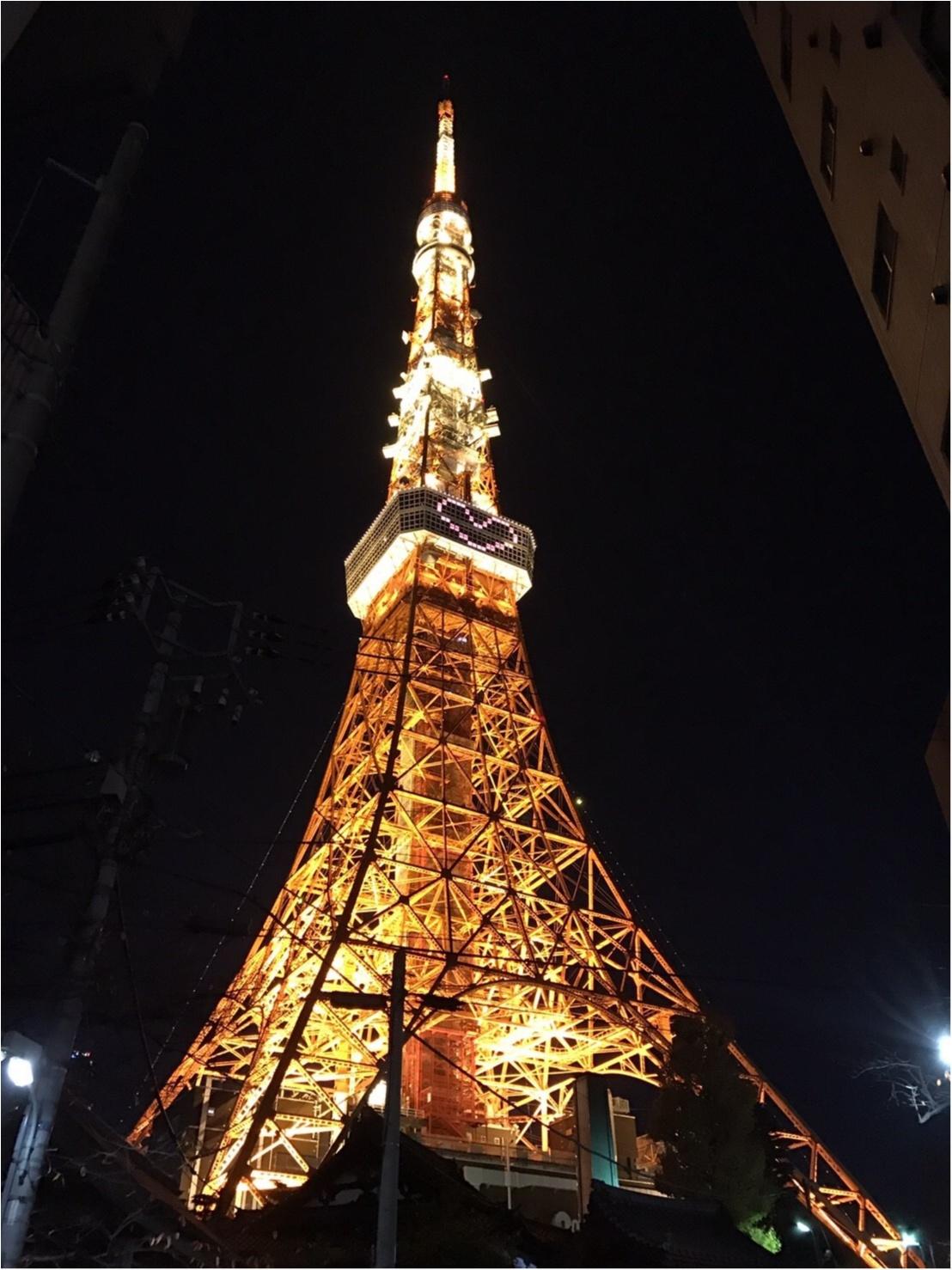 東京散歩~東京タワーのプロジェクションマッピング_2