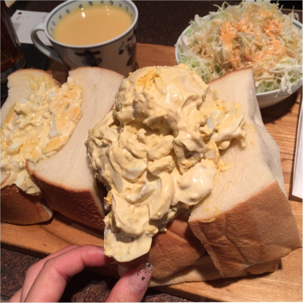パン1斤まるごと?!東銀座の最強フォトジェニック萌断サンドイッチ♡_2