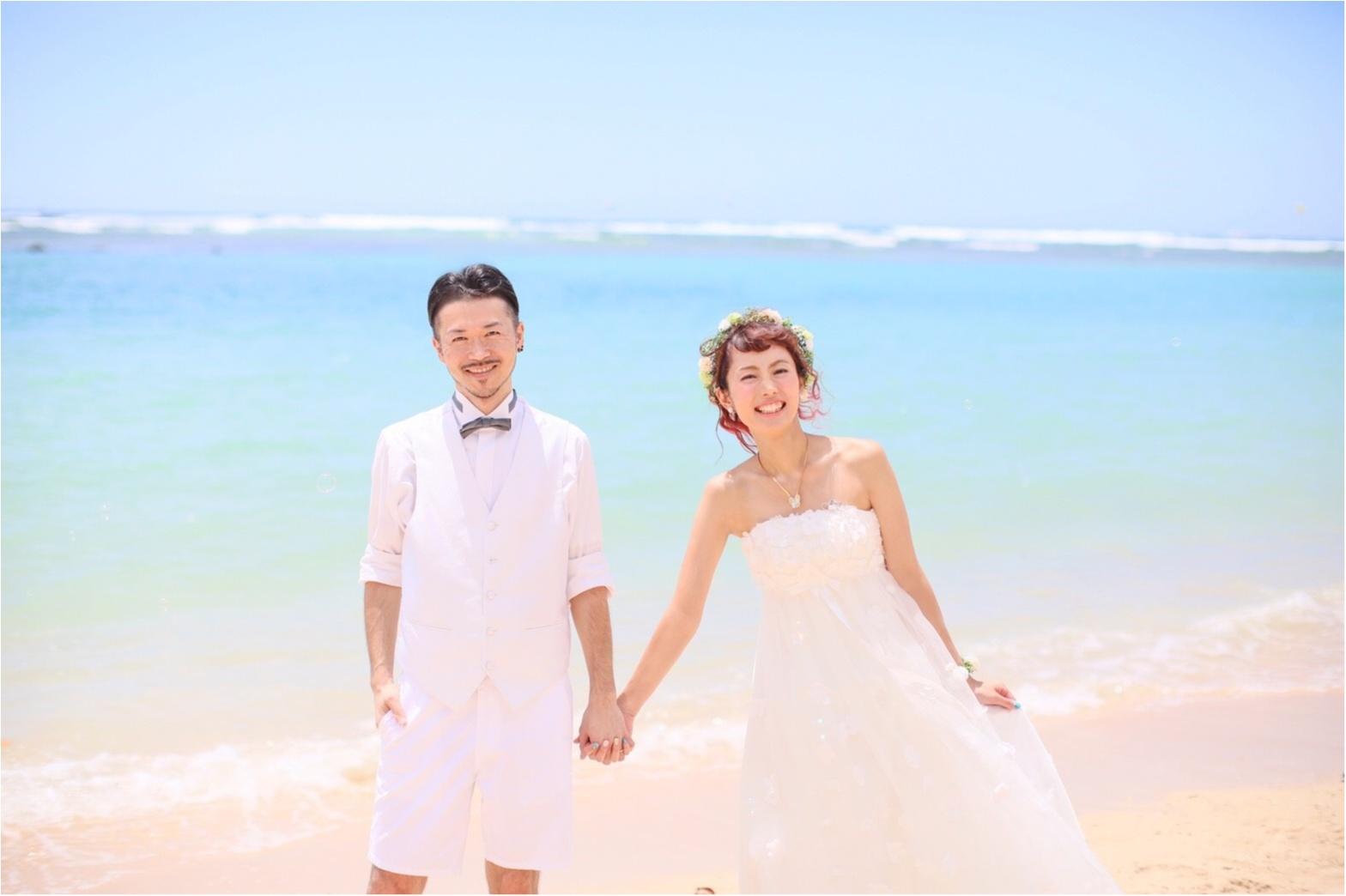 【プレ花嫁さん必見】ハワイでウェディングフォト撮影-ビーチ撮影・ハンドメイドの小物たち-_4
