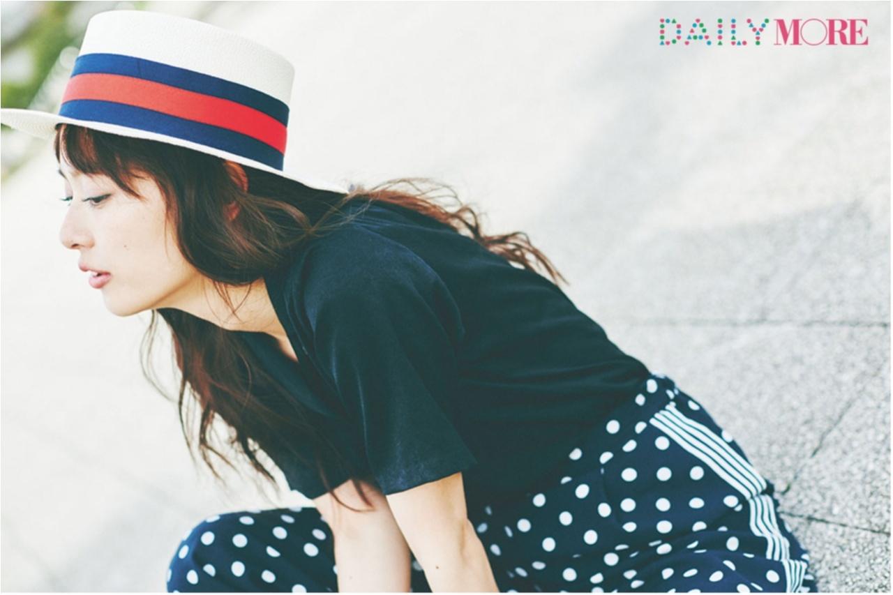 いつもの服が一気にフレンチムードに♪ お茶目な「カンカン帽」コーデまとめ♡_1_16